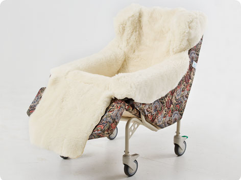 Carefoam Rollabout Chair Provides Pressure Reduced